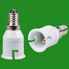 40x E14 SES To B22 Bayonet Cap Light Bulb Socket Lamp Adaptor Converter Holder