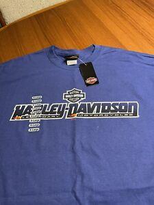 Brand New Harley-Davidson T Shirt 2010 Metro Blue Orlando, Florida��