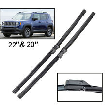 For Jeep Renegade 2014 2015 2016 2017 2018 2019 Front Windshield Wiper Blades