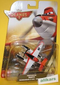 FIREFIGHTER Dusty Disney Planes Mattel 1:55 Aereo Bombardier, Cars New Original