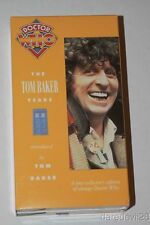 "Vintage 1992 Dr. Who ""The Tom Baker Years"" VHS Video Tape Set of 2"