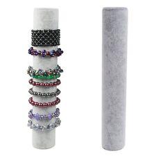 Velvet Bracelet Bangle Watch Display Organizer Shelf Rack Holder Jewelry Stand