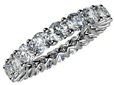 4.00 ct Ladies Round Cut Diamond Eternity Wedding Band Ring New Design on Ebay