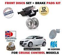 Para Suzuki Swift 1.6 Sport M16a 2011 - > Nuevo frente Discos De Freno Set + Almohadillas De Disco Kit