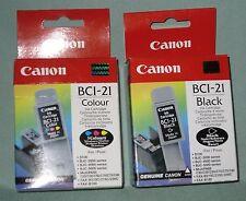 DV5371 CANON IMPRIMANTE 2 CARTOUCHES BCI-21 BCI21 BLACK & COULEUR