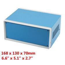 "Metal Enclosure Cabinet Project Case DIY Junction Box 168x130x70mm 6.6""x5.1x2.7"""