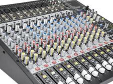 OMNITRONIC Professionelles Audiomischpult LMC-2642FX USB Mischpult USB Mixer