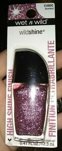 x3 wet n wild Shine Nail Color, Sparked, 0.41 Fluid Ounce