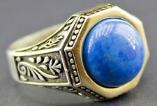 Sterling silver men ring handmade, turquoise natural gemstone, Personalized ring