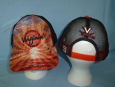 VIRGINIA CAVALIERS  Brilliant Mesh Snapback CAP/HAT One Size Fits All NWT $25