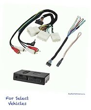 Amp Stereo Wire Harness Adapter + Steering Audio Control for some Lexus Toyota