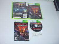 RESIDENT EVIL: OPERATION RACCOON CITY game complete for MICROSOFT XBOX 360