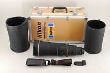 【AB- Exc】 Nikon AF-S NIKKOR ED 500mm f/4 D IF Lens w/Trunk Hood From JAPAN #2799
