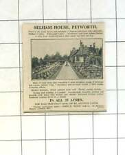 1936 Petworth, 33 Acres, Selham House, Eight Bedroom For Sale