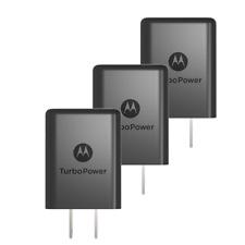 OEM Moto TurboPower 15 Plus - QC 3.0 Wall Fast Rapid Charger - Black