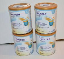 Neocate Junior Vanilla Formula - 4 cans (1 case) Expires june 2022  14.1oz