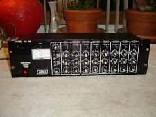 Ashly SC-68, Parametric Notch Filter Equalizer, Eq, Vintage Rack