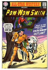 All-Star Western #1 Featuring Pow-Wow Smith, Very Fine - Near Mint Condition
