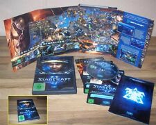 Starcraft 2 Wings of Liberty PC-DVD pas de téléchargement dans box voir photo de collection