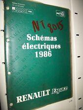 Schémas électriques ESPACE 1986 NT8015