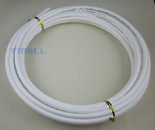 """1/4"""" Tube 10m Meters 30ft Tubing Hose Pipe for RO Water Filter System white PE"""
