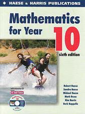 Mathematics for Year 10 Haese. Book & CD.