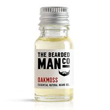 Oakmoss The Bearded Man Co Beard Oil Conditioner Male Grooming Husband Dad 10ml