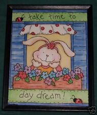 """Handmade"" Multi-Color Take Time To Day Dream Picture for Child's or Baby Room"