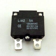 250v 5a 125v sovraccarico automatico resettabile FUSIBILE SHORT Circuit Breaker TERMINALE