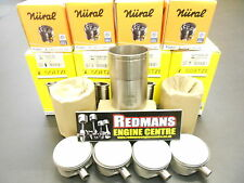 Rover k series 1.8 turbo pistons + liners set of 4 NURAL FEDERAL MOGUL/AE
