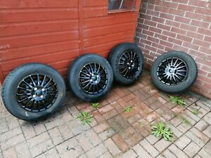 14 Inch Wheels And Tyres 185/70/14 4x100