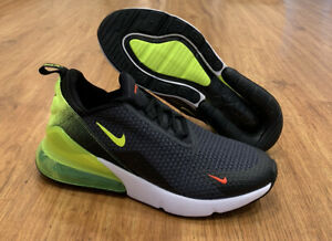 Nike Air Max 270 Volt (GS) Shoes Size 5Y| 6.5 Womens Anthracite AV5141 001