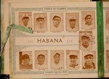 1923-24 Tomas Gutierrez album Habana Pop Lloyd  & Andy Cooper negro league cards