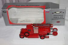VINTAGE RUSSIAN ~ 1/43 SCALE DIECAST METAL FIRE TRUCK