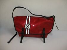 Vintage CHROME Schwinn Sting-Ray Red Metal Flake MESSENGER Bag USA MADE