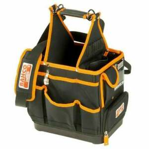 """BAHCO 4750FB3-12 Electricians/Plumbers 12"""" Tool Tote & Parts Storage Bag"""