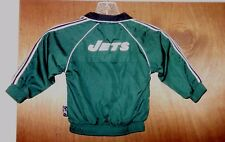 New York JETS Jacket NFL Football Coat Shirt Jersey Child Baby Toddler sz 24M 2T