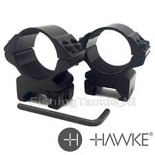 Hawke Match Ring Mounts 9-11mm & Weaver Rifle Scope Mounts