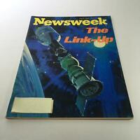 Newsweek Magazine: July 21 1975 - The Link-Up