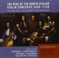 ADRIAN/LA SERENISSIMA CHANDLER - RISE OF NORTH ITALIAN VIOLIN CONCERTO  CD NEU