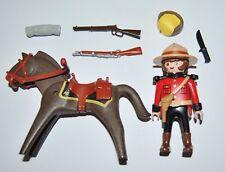 590070 Policía montada Canadá. Ref. 3827 CUSTOM playmobil canadian mounted