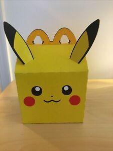 McDonalds Pokemon 2021 Promo Happy Meal Case Pikachu Box 25th Anniversary 1 Box