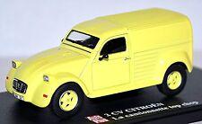 Citroen 2CV Van La camionnette top chop 1975-90 - 1:43 gelb yellow