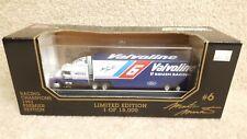 1993 Racing Champions 1:87 Premier NASCAR Mark Martin Valvoline Transporter #6