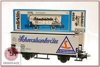 H0 1:87 ho trenes maqueta Märklin vagon mercancias AC 4680 Schwabenbräu DRG