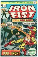 Iron Fist 1 1st Series Marvel 1975 FN VF Iron Man John Byrne Chris Claremont