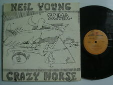 NEIL YOUNG Zuma ROCK LP REPRISE Orig. 1H/1H Matrix PASTEBACK COVER