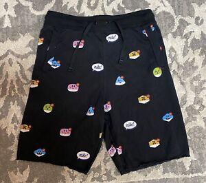 """Nike Sportswear Alumni Moji 9"""" Fleece Shorts Black Mens Sz Small DJ5283-010 NEW!"""