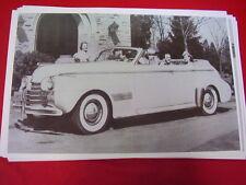 1939 OLDSMOBILE 4DR PHAETON CONVERTIBLE  11 X 17  PHOTO /  PICTURE