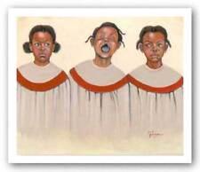 Make a Joyful Noise Jerry Logans African American Art Print 24x21